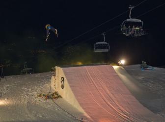 SNOWPARK MONTE BONDONE: PHOTOSHOOTING | NIGHT PARTY