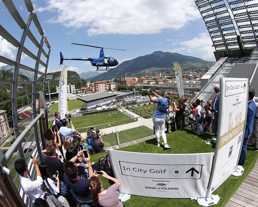 In City Golf Trento presented by Engel&Völkers