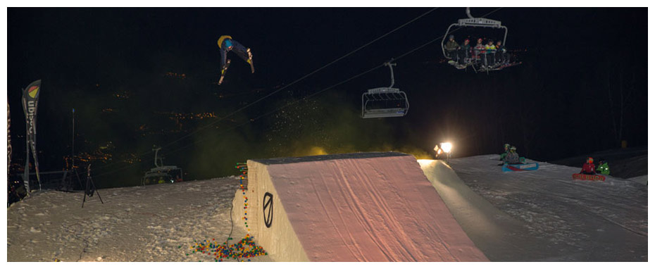 Snowpark Monte Bondone - Photo by Fudo