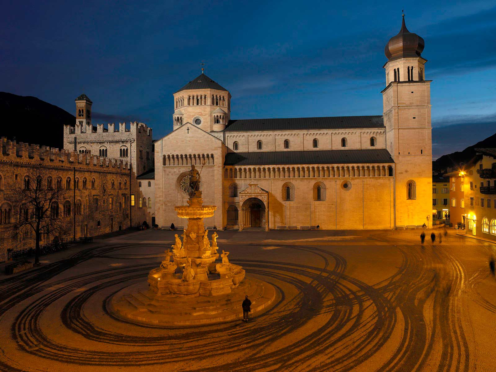 The town of Trento - Trentino