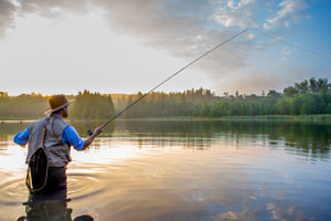 FISHING HOLIDAYS IN VALLE DEI LAGHI