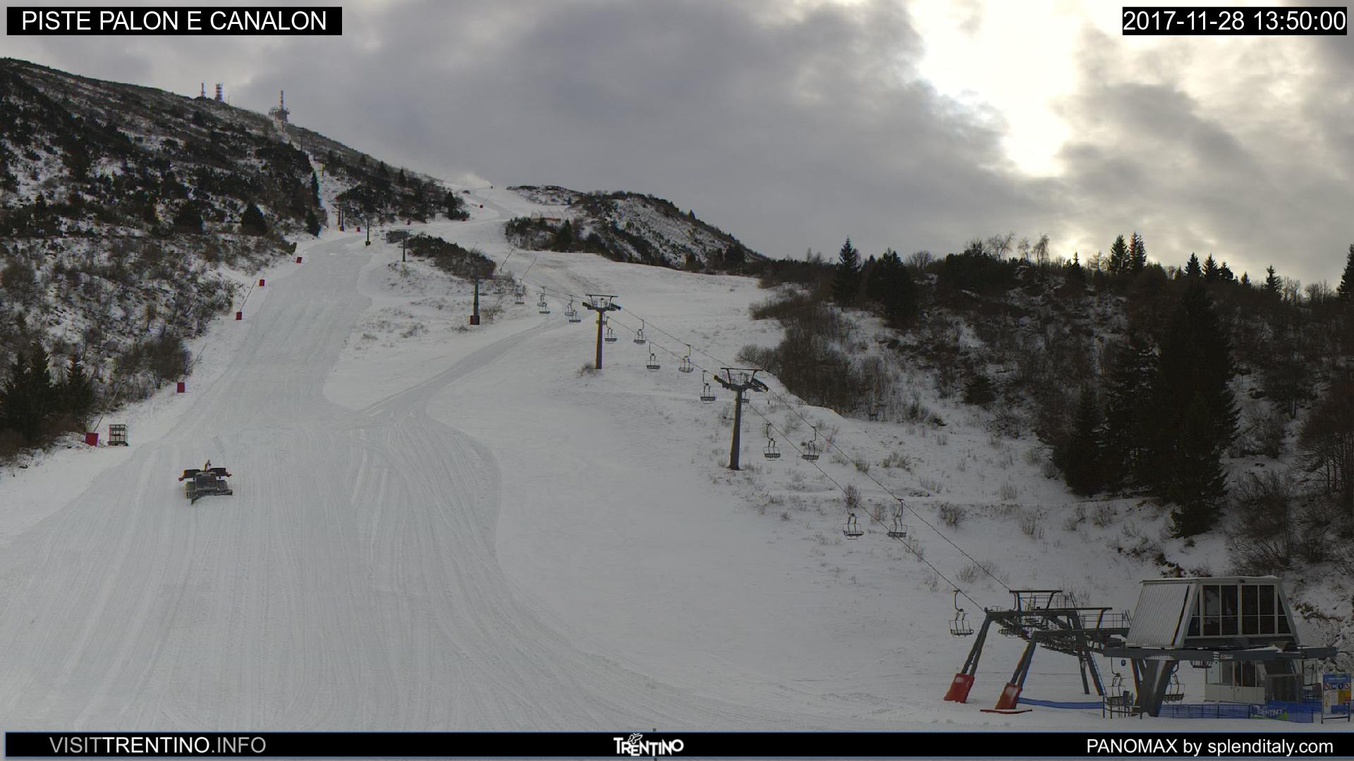 Webcam Bondone - Pista Palon