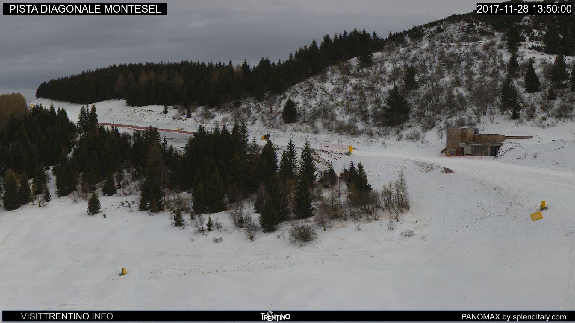 Webcam Bondone - Pista Montesel