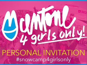 100-ONE SNOWBOARD CAMP 4GIRLS ONLY